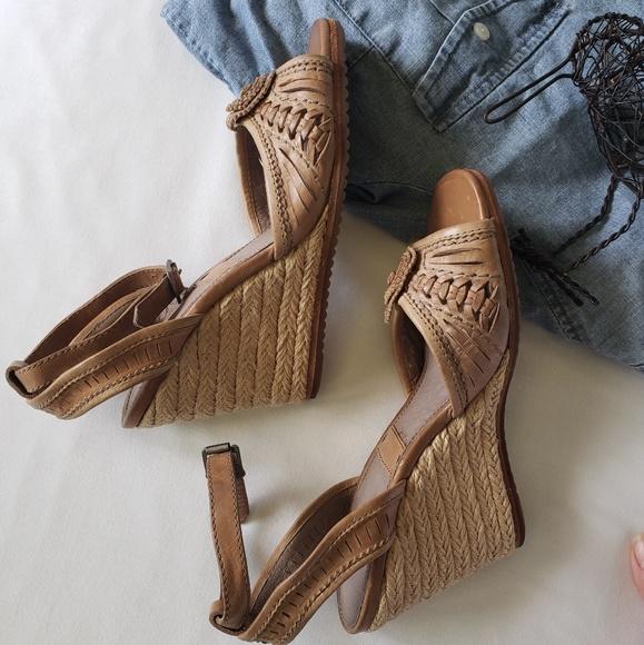 55ab47ff16c Frye Shoes   Espadrille Wedge Sandals   Poshmark